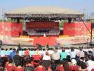 河南2000多名群众演员放歌如意湖畔 庆祝新中国成立70周年