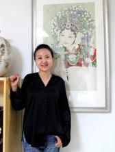 著名书画家钱惠华