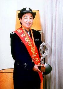 """全国""""五一""""劳动奖章获得者、全国优秀人民警察——任长霞"""