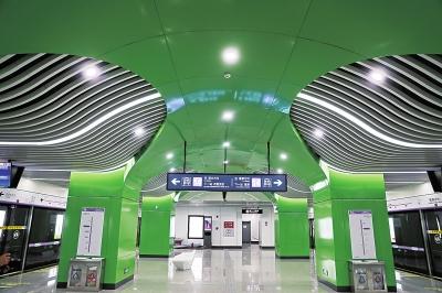 郑州地铁14号线一期即将开通 全长7公里多,有6个站
