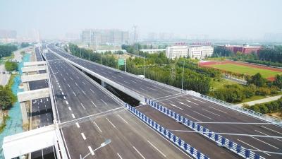 """郑州""""大四环""""建得咋样了?非主线部分及匝道在加快建设"""