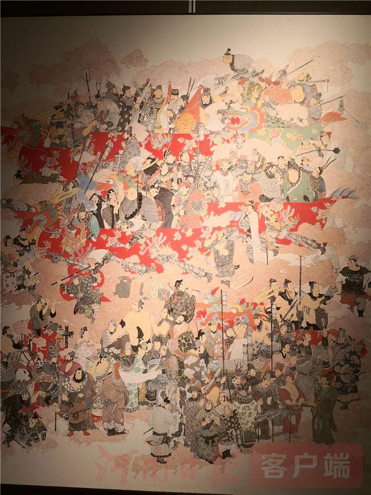 见证中国历史变迁,第十三届全国美术作品展壁画展开幕