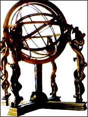 张衡:制造浑天仪和瑞轮冥荚