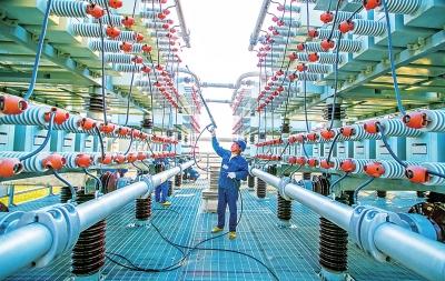 河南1000千伏特高压南阳站:扩建后将再拿下一个世界之最