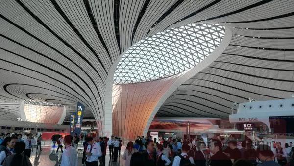 大兴机场首航!未来可能开通郑州航线