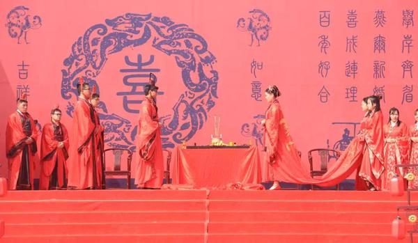 抓紧报名,免费!这个5A景区面向全球邀请20位新人共赴汉式婚礼